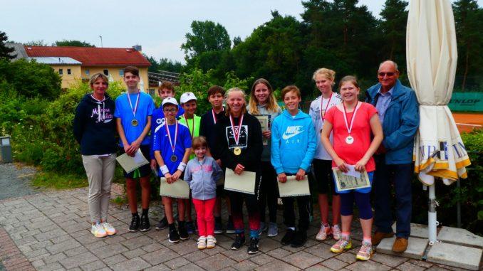 Tennis Jugend Vereinsmeisterschaften 2018